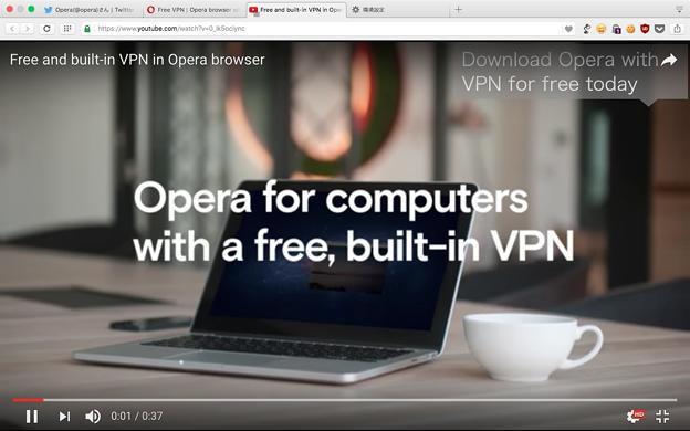 写真: Opera 40:いくつかの動画サイトでフルスクリーン動画がタブ内フルスクリーンになる…不具合? - 2(YouTube)