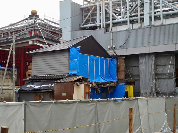 大須商店街:火事で更地となった場所 - 1