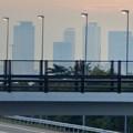 写真: 中央道上に架かる陸橋越しに見えた、名駅ビル群 - 5