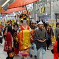大須大道町人祭 2016:夜の花魁(おいらん)道中 - 11