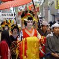 大須大道町人祭 2016:夜の花魁(おいらん)道中 - 12