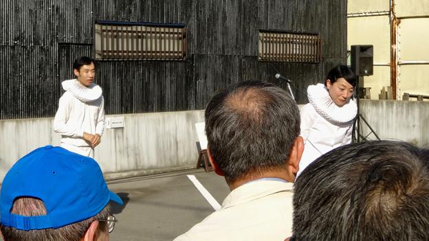 大須大道町人祭 2016 No - 5:パントマイマー・コンビ「シルヴプレ」のパフォーマンス
