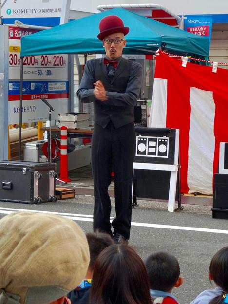 大須大道町人祭 2016 No - 17:パントマイマー「池田洋介」さんのパフォーマンス