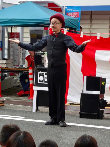 大須大道町人祭 2016 No - 18:パントマイマー「池田洋介」さんのパフォーマンス