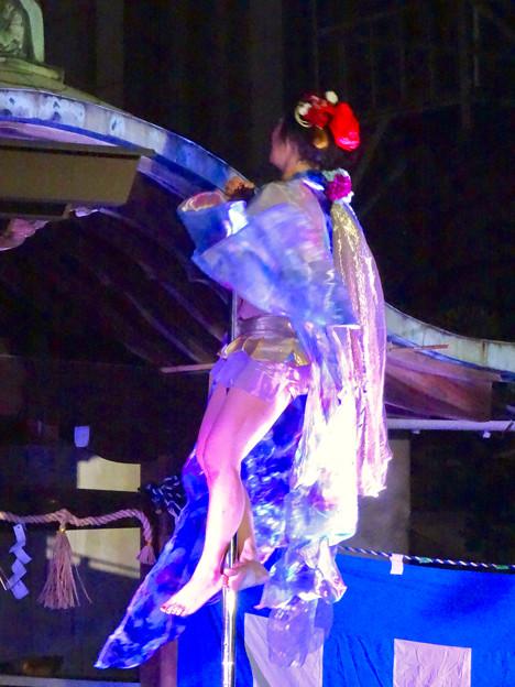 大須大道町人祭 2016 No - 82:ポールダンサー「鷹島姫乃」さんのパフォーマンス