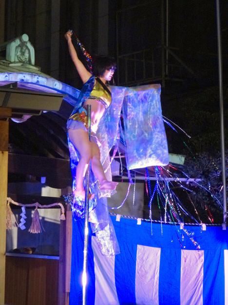 大須大道町人祭 2016 No - 84:ポールダンサー「鷹島姫乃」さんのパフォーマンス