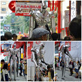 Photos: 大須大道町人祭 2016 No - 91:大須商店街の中を歩く巨大ロボット(?)「バイオニック・サタン」