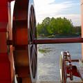 写真: 落合公園:水の塔の水車