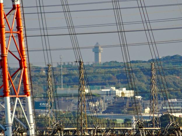 落合公園:水の塔最上階から見た景色 - 4(スカイワードあさひ)
