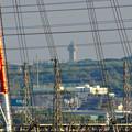 写真: 落合公園:水の塔最上階から見た景色 - 4(スカイワードあさひ)