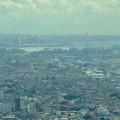 写真: ミッドランドスクエア「スカイプロムナード」から見た景色(2012年9月9日撮影) - 1:名古屋港