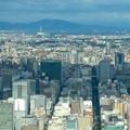 写真: ミッドランドスクエア「スカイプロムナード」から見た景色(2012年9月9日撮影) - 12:名古屋テレビ塔と瀬戸デジタルタワー