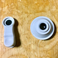 写真: 100円ショップ「セリア」で売ってたスマホ用ワイドレンズ - 5:レンズとクリップ部分は切り離し可能