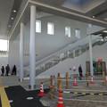 写真: 今日からリニューアルオープンした新・JR春日井駅 - 3:北口の階段