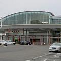 写真: JR春日井駅の新駅舎(北口)