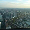 ミッドランドスクエア「スカイプロムナード」から見た景色(夕方) - 1:南側