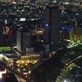 ミッドランドスクエア「スカイプロムナード」から見た夜景 - 19:ささしまライブ24