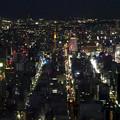 写真: ミッドランドスクエア「スカイプロムナード」から見た夜景 - 24:栄地区
