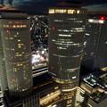 ミッドランドスクエア「スカイプロムナード」から見た夜景 - 36:名駅ビル群