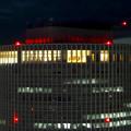 ミッドランドスクエア「スカイプロムナード」から見た夜景 - 39:セントラルタワーズ頭頂部