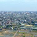 写真: ツインアーチ138展望階から見た三菱電機稲沢製作所のエレベーター試験塔(2012年6月撮影) - 1