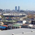 写真: 清洲城から見た名駅ビル群(2012年4月撮影) - 2