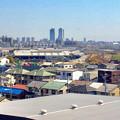写真: 清洲城から見た名駅ビル群(2012年4月撮影) - 3