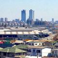 写真: 清洲城から見た名駅ビル群(2012年4月撮影) - 4