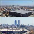 写真: 清洲城から見た名駅ビル群(2012年4月撮影) - 7