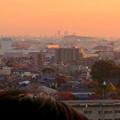 写真: 犬山城天守閣から見た、夕暮れ時の名駅ビル群(2012年11月) - 3