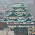 写真: セントラルタワーズ15階から見た景色 - 5:名古屋城の天守閣