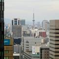 写真: セントラルタワーズ15階から見た景色 - 6:名古屋テレビ塔