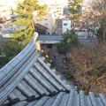 写真: 大垣城 - 45:最上階から見下ろした東門(東側)