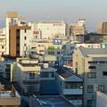 写真: 大垣城 - 47:最上階から見た景色(JR大垣駅方面)