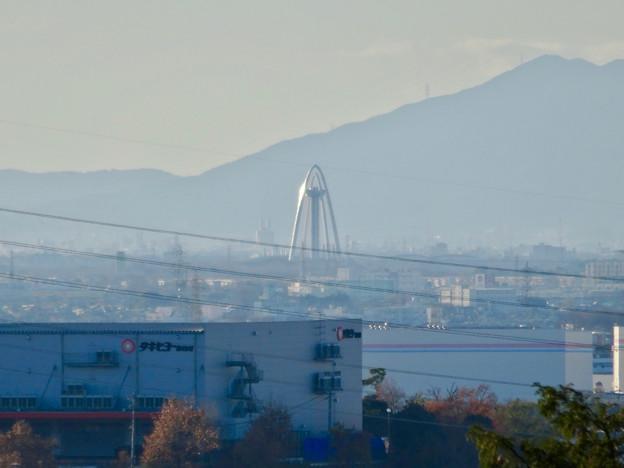 尾張富士浅間神社から見たツインアーチ138 No - 6