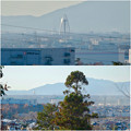 写真: 尾張富士浅間神社から見たツインアーチ138 No - 17