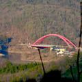 写真: 尾張白山社(白山神社)から見た景色 - 18:入鹿大橋