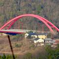 写真: 尾張白山社(白山神社)から見た景色 - 19:入鹿大橋