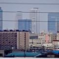 写真: 勝川橋から見えた名駅ビル群 - 2