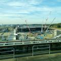 リニモ車内から見えた建設途中の「IKEA長久手」 - 3