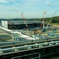 リニモ車内から見えた建設途中の「IKEA長久手」 - 4