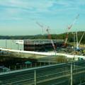 リニモ車内から見えた建設途中の「IKEA長久手」 - 6