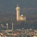 東山スカイタワー展望階から見た景色 - 6:スカイワードあさひ