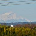 写真: 落合公園 水の塔から見えた御嶽山 - 2