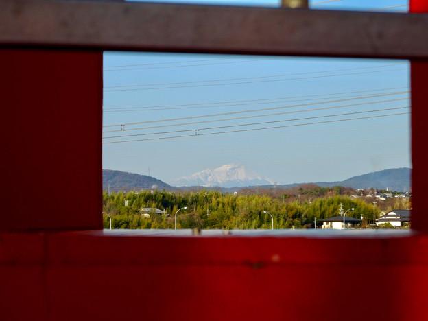 写真: 落合公園 水の塔から見えた御嶽山 - 8