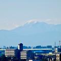 写真: 落合公園 水の塔から見えた伊吹山 - 2