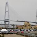 金城ふ頭から見た名港トリトン - 1:名港中央大橋