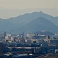 犬山城から見た金華山と岐阜城 - 2