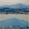 写真: 犬山城から見た金華山と岐阜城 - 13