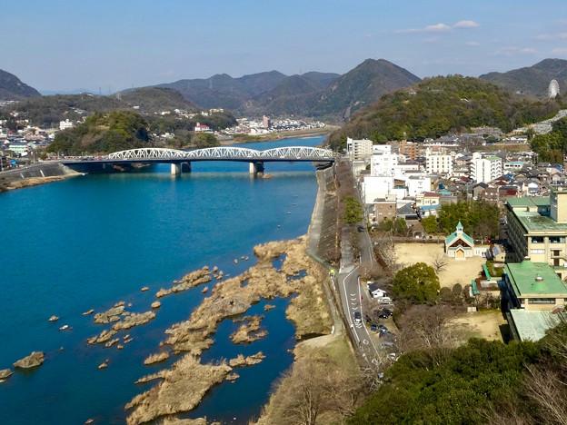 犬山城の最上階から見た景色 - 6